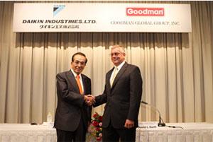 Сътрудничество между Daikin и Goodman