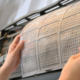 Редовно почистване на филтрите на климатика през зимата, грижи за климатика